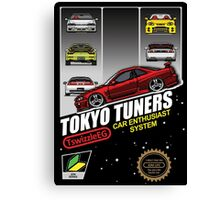 Tokyo tuners - transparent background Canvas Print