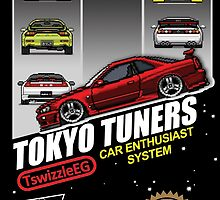 Tokyo tuners - transparent background by TswizzleEG