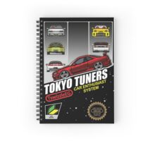 Tokyo tuners - transparent background Spiral Notebook