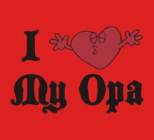 I Love My Opa Kids Tee