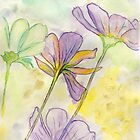 Dancing Flowers by Anne Gitto