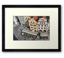 Prague's Old Town Square Framed Print