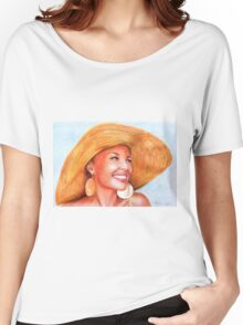 Kylie Minogue - lovely hat 2 Women's Relaxed Fit T-Shirt