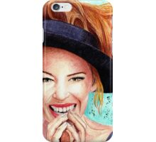 Kylie Minogue - lovely hat iPhone Case/Skin