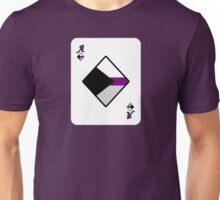 Ace Spectrum Playing Cards: Demisexual Unisex T-Shirt