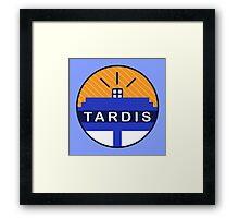 Iconic TARDIS Framed Print