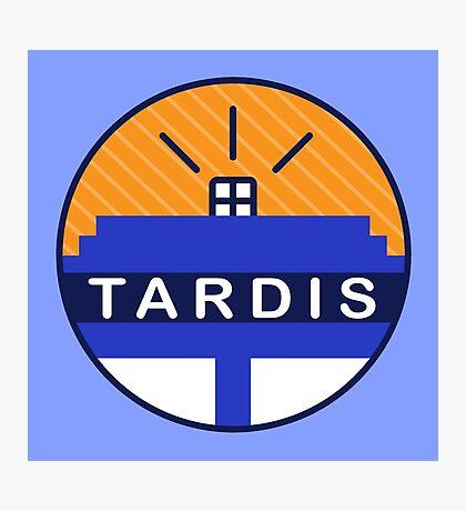 Iconic TARDIS Photographic Print