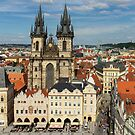 Prague Old Town Square - Prague, CZ by Josef Pittner