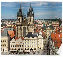 Prague Old Town Square - Prague, CZ Poster