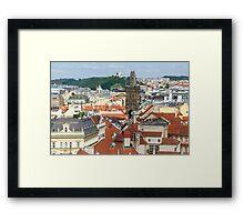 Prague City Scape - Prague, CZ Framed Print