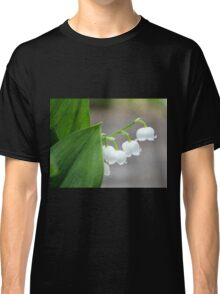 Lily-of-the-valley by the Sidewalk Classic T-Shirt