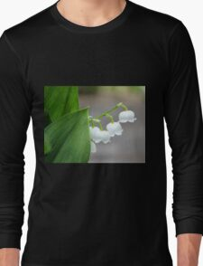 Lily-of-the-valley by the Sidewalk Long Sleeve T-Shirt