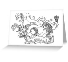 S is for Salamander Greeting Card