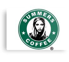 Buffy The Vampire Slayer - Summers Coffee Metal Print