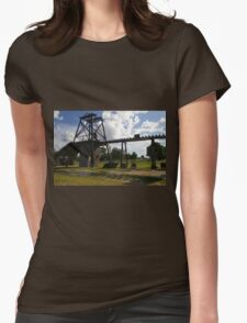 Old Mining Equipment  Womens Fitted T-Shirt