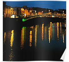 Dublin by Night Poster