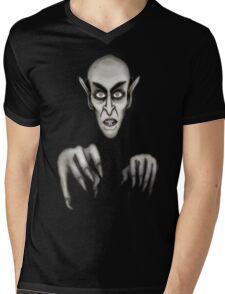 Nosferatu The Vampyre Mens V-Neck T-Shirt