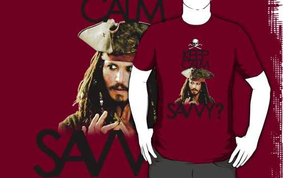 Keep Calm Savvy? by KRASH (Ashlee Fensand)