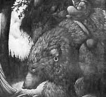 Werewolf Rider by eric orchard