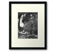 Werewolf Rider Framed Print