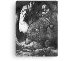 Werewolf Rider Canvas Print