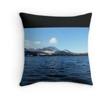 Crummock Boat House Throw Pillow