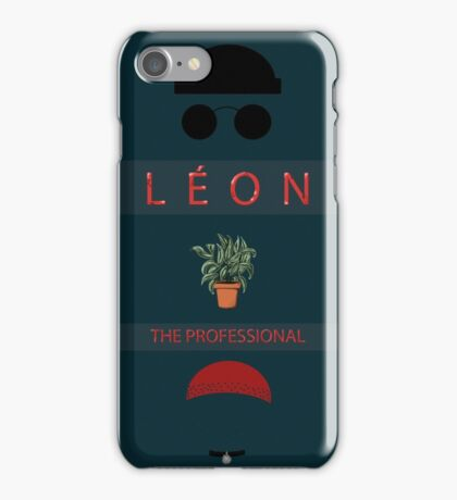Léon :The Professional iPhone Case/Skin