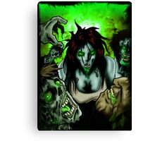 OMG Zombies Canvas Print