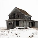 abandoned house on the prairies by alex skelly