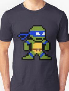 8-Bit TMNT Leo (No Text) T-Shirt