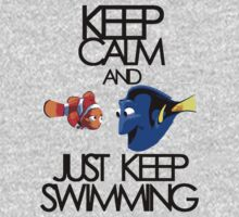 Keep Calm and Just Keep Swimming by KRASH (Ashlee Fensand)