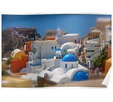 Santorini . Oia . (Greece) by Brown Sugar . Merry Christmas Everyone ******* F** Views (1517) . Favs (4) thanks , dzięki !!! Poster
