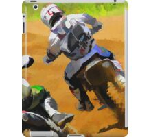 Motocross Dirt-Bike Championship Racers iPad Case/Skin