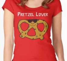 Pretzel Lover Women's Fitted Scoop T-Shirt