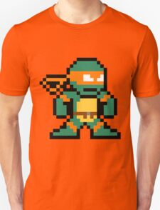 8-Bit TMNT Mikey (No Text) T-Shirt