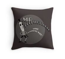 The Mr. Poopybutthole Show Throw Pillow