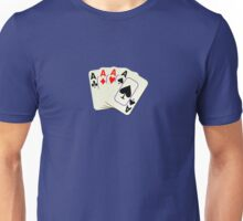 Deck of Lucky Ace Cards - Poker T-shirt Sticker Unisex T-Shirt