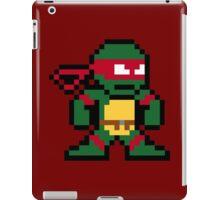 8-Bit TMNT Raph (No Text) iPad Case/Skin