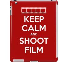 Keep Calm and Shoot Film iPad Case/Skin