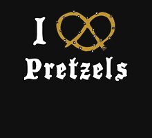 I Love Pretzels Women's Fitted Scoop T-Shirt