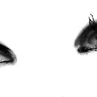 Man Ray eyes by Sophie Higgins