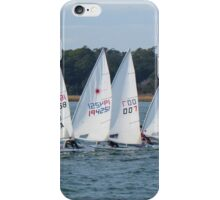 Sailboat Racing iPhone Case/Skin