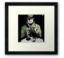 Father of Two Framed Print