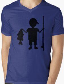 THE REEL BOY Mens V-Neck T-Shirt