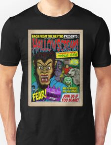 Hallowscream! 2014 Front Cover (official) T-Shirt