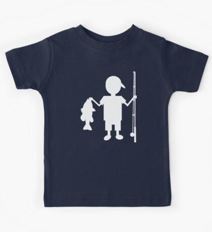 The Reel Boy Kids Tee