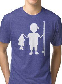 The Reel Boy Tri-blend T-Shirt
