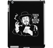 The Knick - This My Book Now iPad Case/Skin