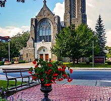 Church of St. Mary & St. Paul in Summer by Kendall McKernon