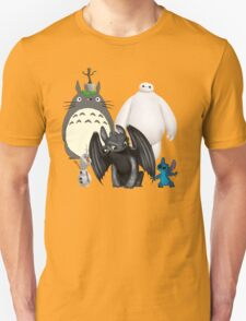 Animated Cute Unisex T-Shirt
